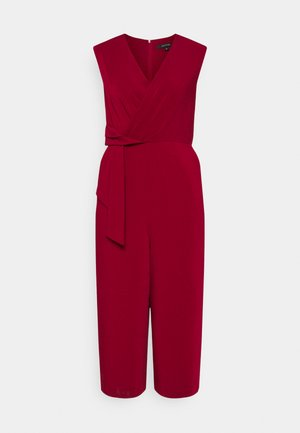 Jumpsuit - deep red