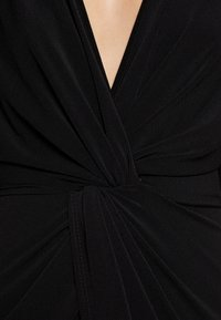 WAL G TALL - FRONT KNOT SLEEVE MIDI DRESS - Maxi šaty - black - 5