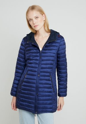Short coat - indigo
