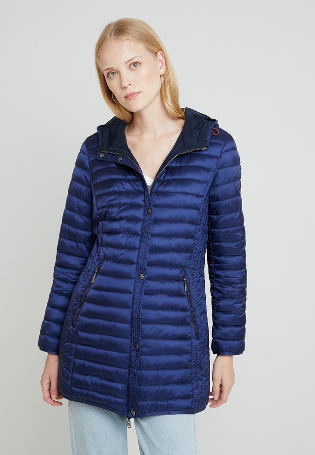 Short coat - indigo