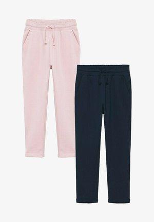 2 PACK - Pantalon de survêtement - bleu marine foncé