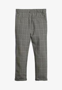 Next - GREY CHECK TROUSERS (3-16YRS) - Kalhoty - grey - 1