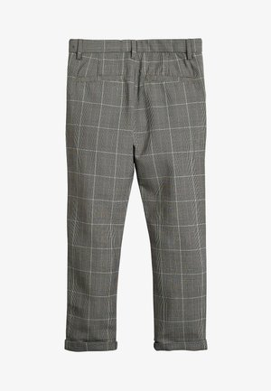 GREY CHECK TROUSERS (3-16YRS) - Kalhoty - grey