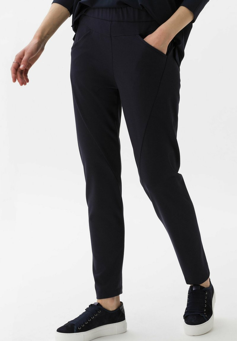 BRAX - Trousers - navy