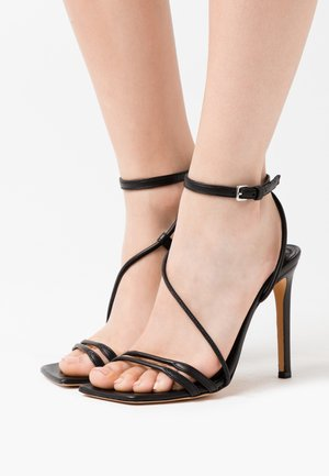 TAAL - High heeled sandals - black