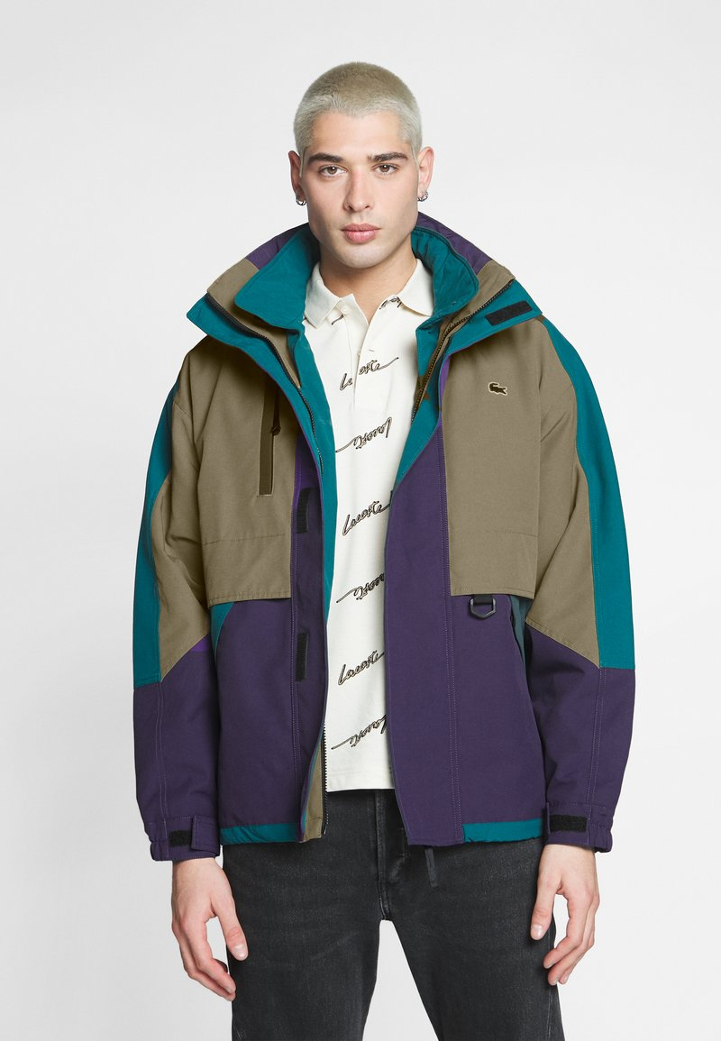 Lacoste LIVE - Light jacket - leafy/tanzanite pine