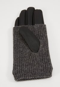 Even&Odd - LEATHER - Gloves - black