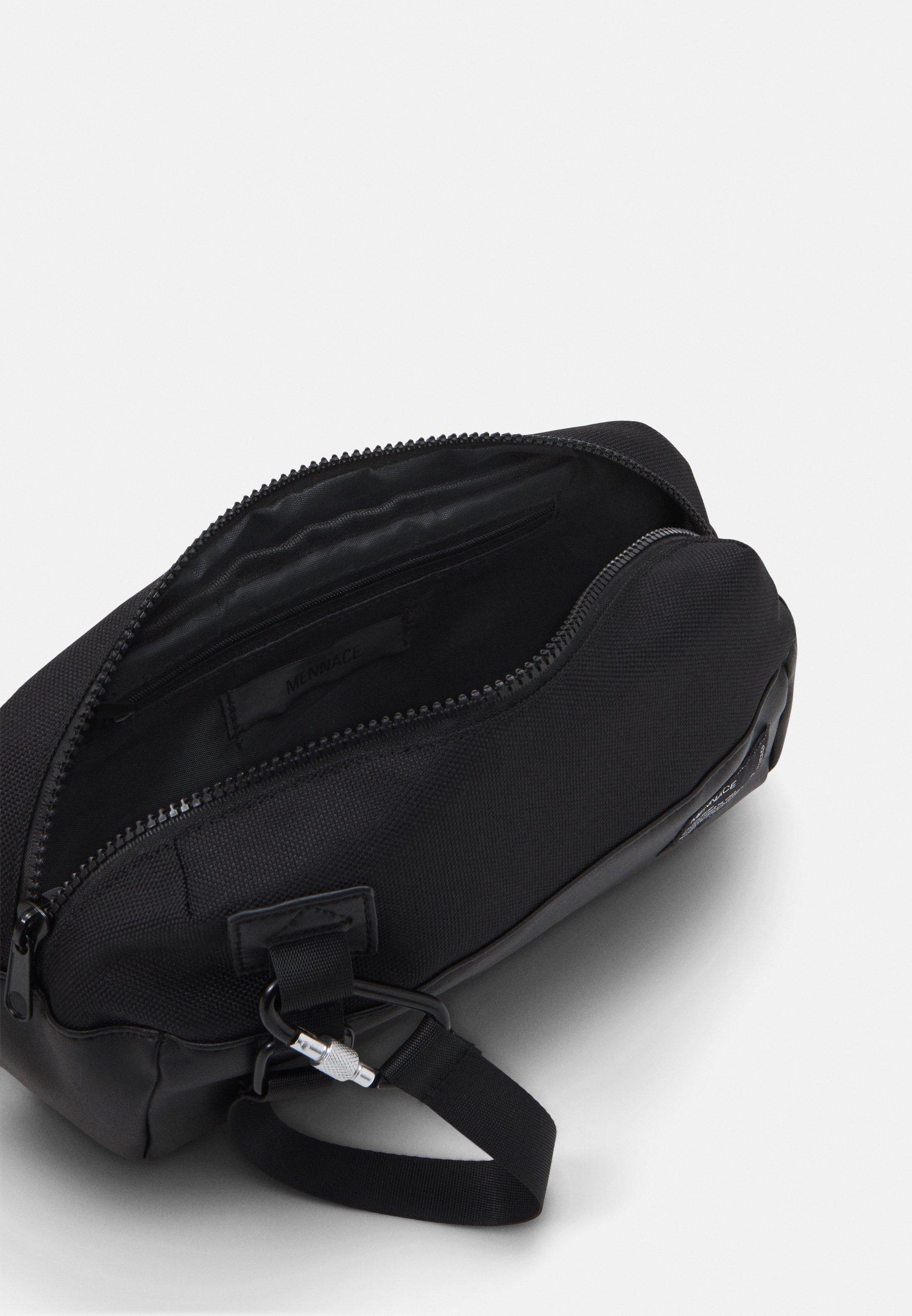 Mennace UTILITY CLIP BUMBAG - Rumpetaske - black/svart BXDIhYamL1p4Eap