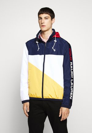 PACE FULL ZIP JACKET - Lehká bunda - newport navy/yellow