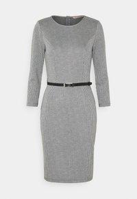 Anna Field - Shift dress - black/white - 4