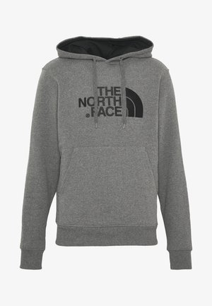 DREW PEAK - Hoodie - medium grey heather/black