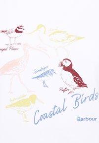 Barbour - LONGSHORE TEE - Top sdlouhým rukávem - white - 5