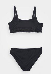 Abercrombie & Fitch - RUCHED KEYHOLE SET - Bikini - navy - 1