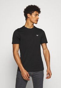Emporio Armani - T-shirt basic - black - 0