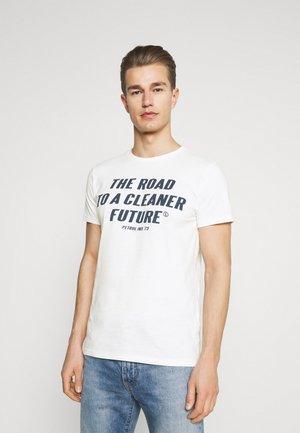 T-shirt print - chalk white