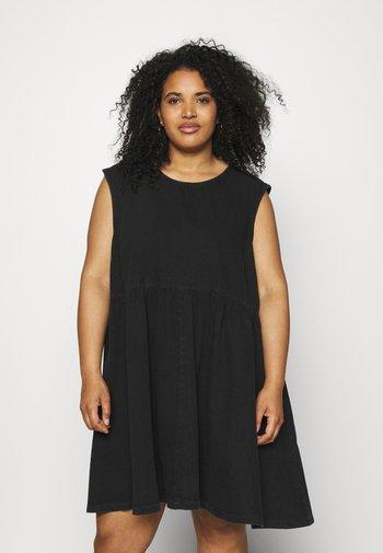 NMCAROLINA DRESS  - Vestido vaquero - black