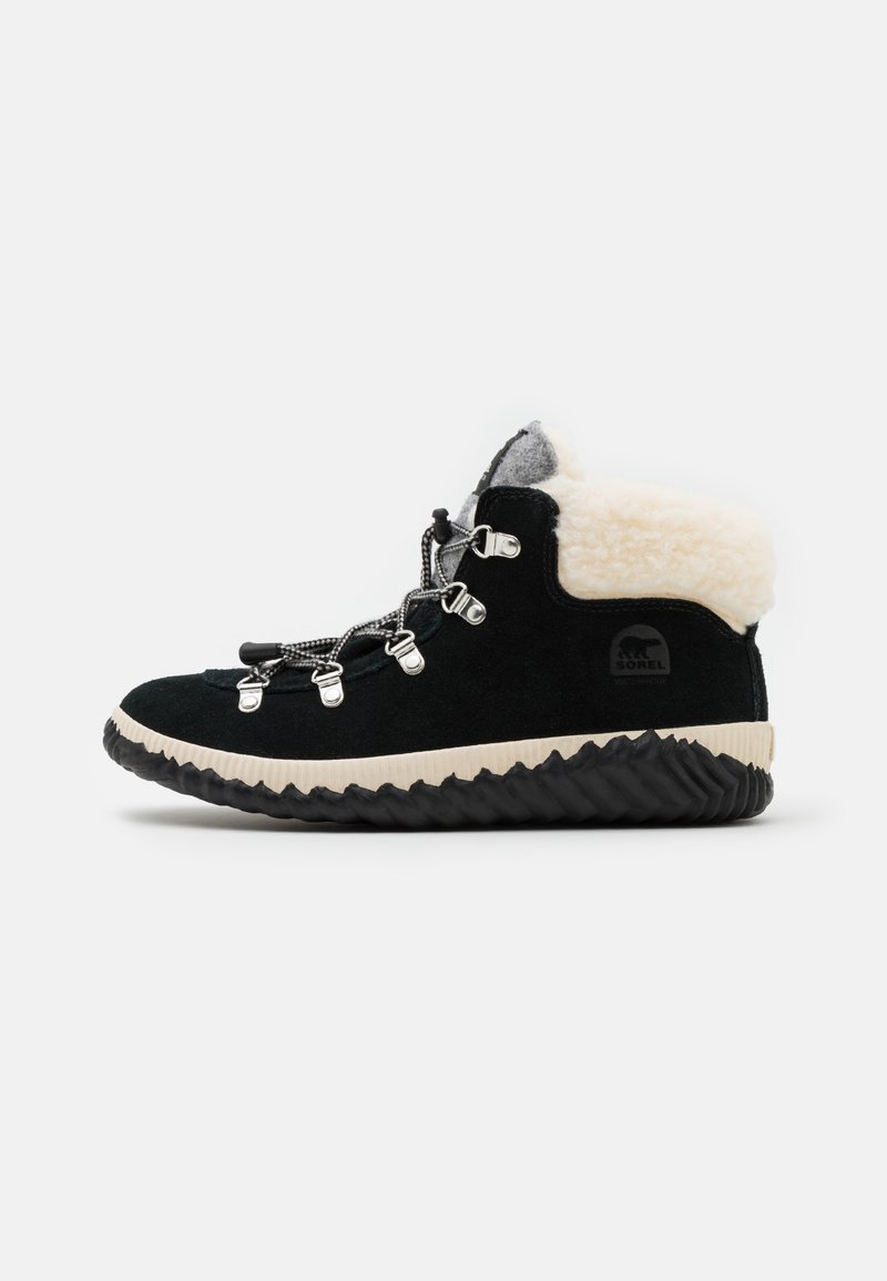 Sorel - YOUTH OUT N ABOUT CONQUEST UNISEX - Lace-up ankle boots - black