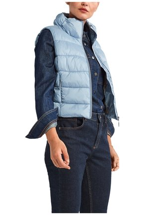 STEPPWESTE - Waistcoat - blau