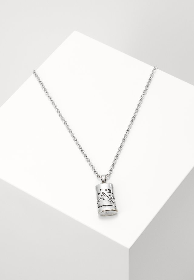 LANDSCAPE NECKLACE - Ketting - silver-coloured