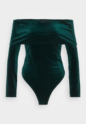 FOLD OVER  - Langarmshirt - emerald