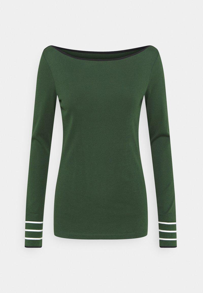 Esprit - CORE - Maglietta a manica lunga - dark green