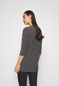 ONLY - ONLGLAMOUR - Strickpullover - dark grey /  melange - 2