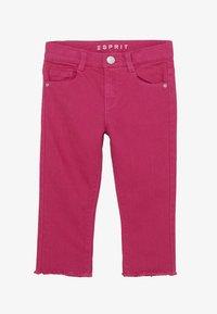 Esprit - DIVERS - Džíny Straight Fit - tropical pink - 2