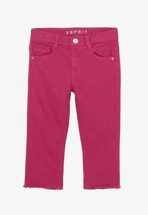 DIVERS - Džíny Straight Fit - tropical pink