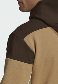 adidas Performance - Zip-up sweatshirt - brown - 5