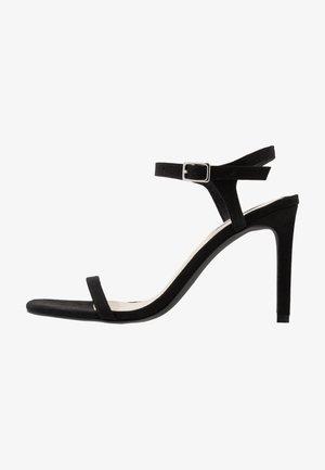 SQUARE  - High Heel Sandalette - black