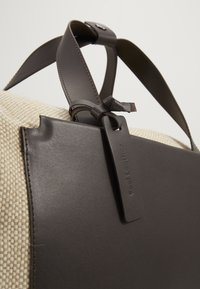 Zign - UNISEX LEATHER - Tote bag - natural - 2