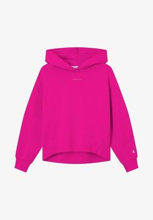 Bluza z kapturem - party pink