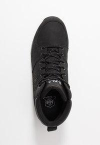 Helly Hansen - TSUGA - Vysoká chodecká obuv - jet black/charcoal - 1