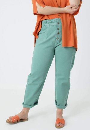 Straight leg jeans - vert