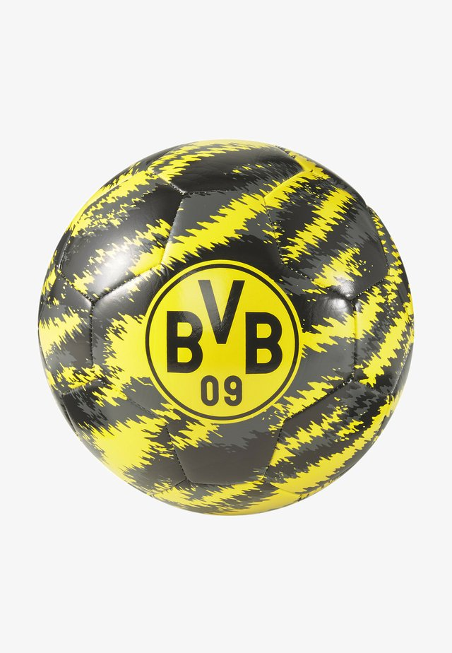 BVB ICONIC BIG CAT - Voetbal - black-cyber yellow