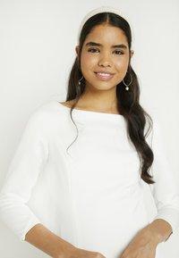 YAS - YASDORIA MAXI DRESS - Iltapuku - star white - 4