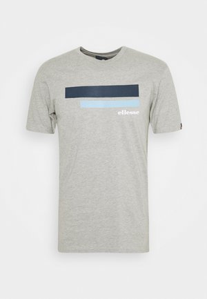 RIAN - Print T-shirt - grey