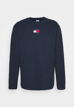 BADGE TEE UNISEX - T-shirt à manches longues - twilight navy