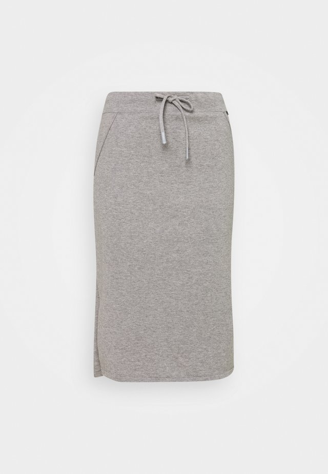 ARC SKIRT WOMAN - Gonna a tubino - grey melange