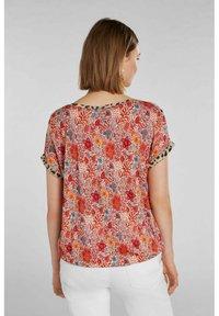 Oui - Print T-shirt - red yellow - 2