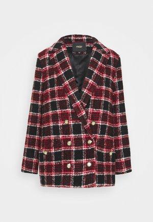 VITRITA - Blazer - noir/rouge