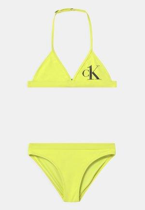 TRIANGLE SET - Bikiny - yellow