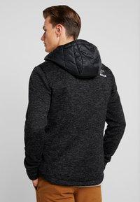 Superdry - STORM FLASH HYBRID - Summer jacket - black heather - 2