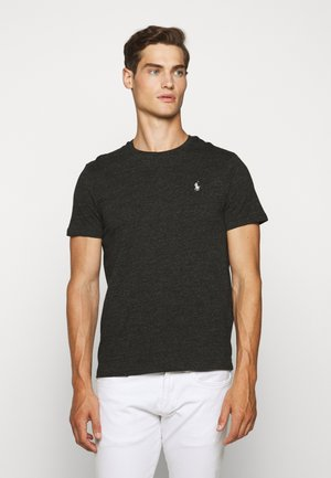 SHORT SLEEVE - Basic T-shirt - black marl heather