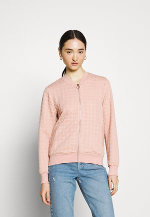 ONLMYNTHE JOYCE - Zip-up hoodie - misty rose