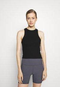 Cotton On Body - LIFESTYLE RACER TANK - Top - black - 0