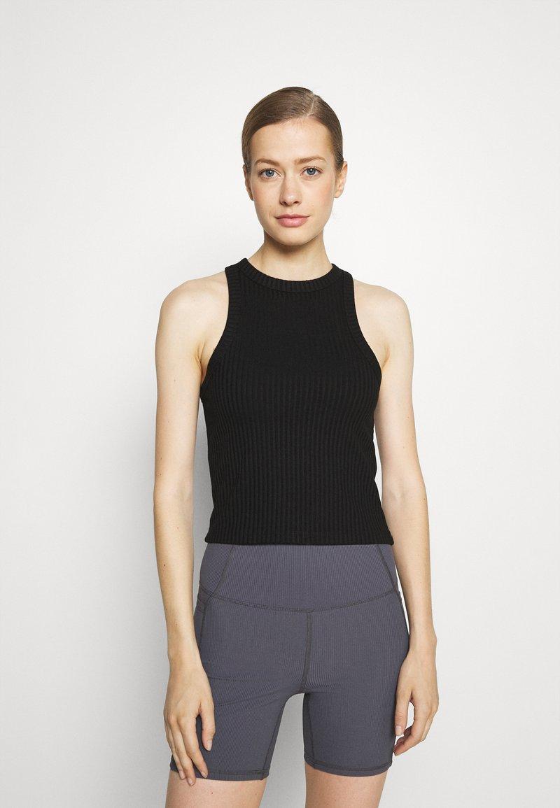 Cotton On Body - LIFESTYLE RACER TANK - Top - black