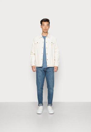 SNYDER - Basic T-shirt - china blue/baleine blue/ navy