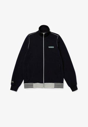 Zip-up hoodie - bleu marine