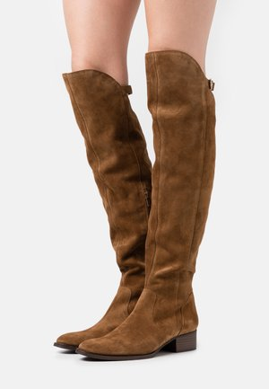 ALEANA - Over-the-knee boots - cannelle